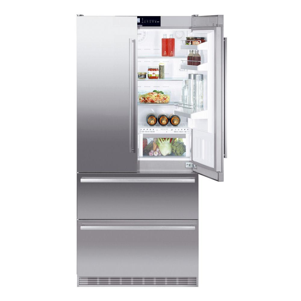 хладилник с фризер либхер