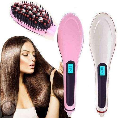 Електрическа четка за изправяне на коса – идеалното решение за увредената къдрава коса