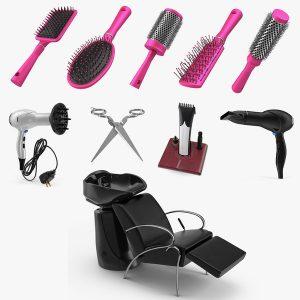 професионалното фризьорско оборудване